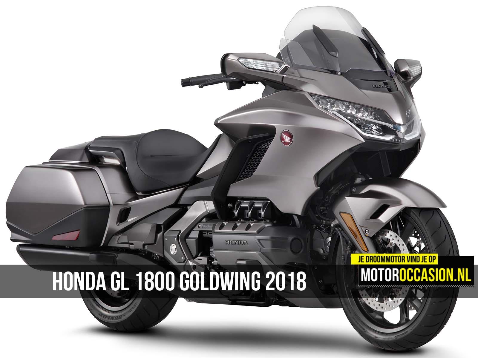 Motoroccasion.nl, Honda GL 1800 Goldwing 2018 is ...