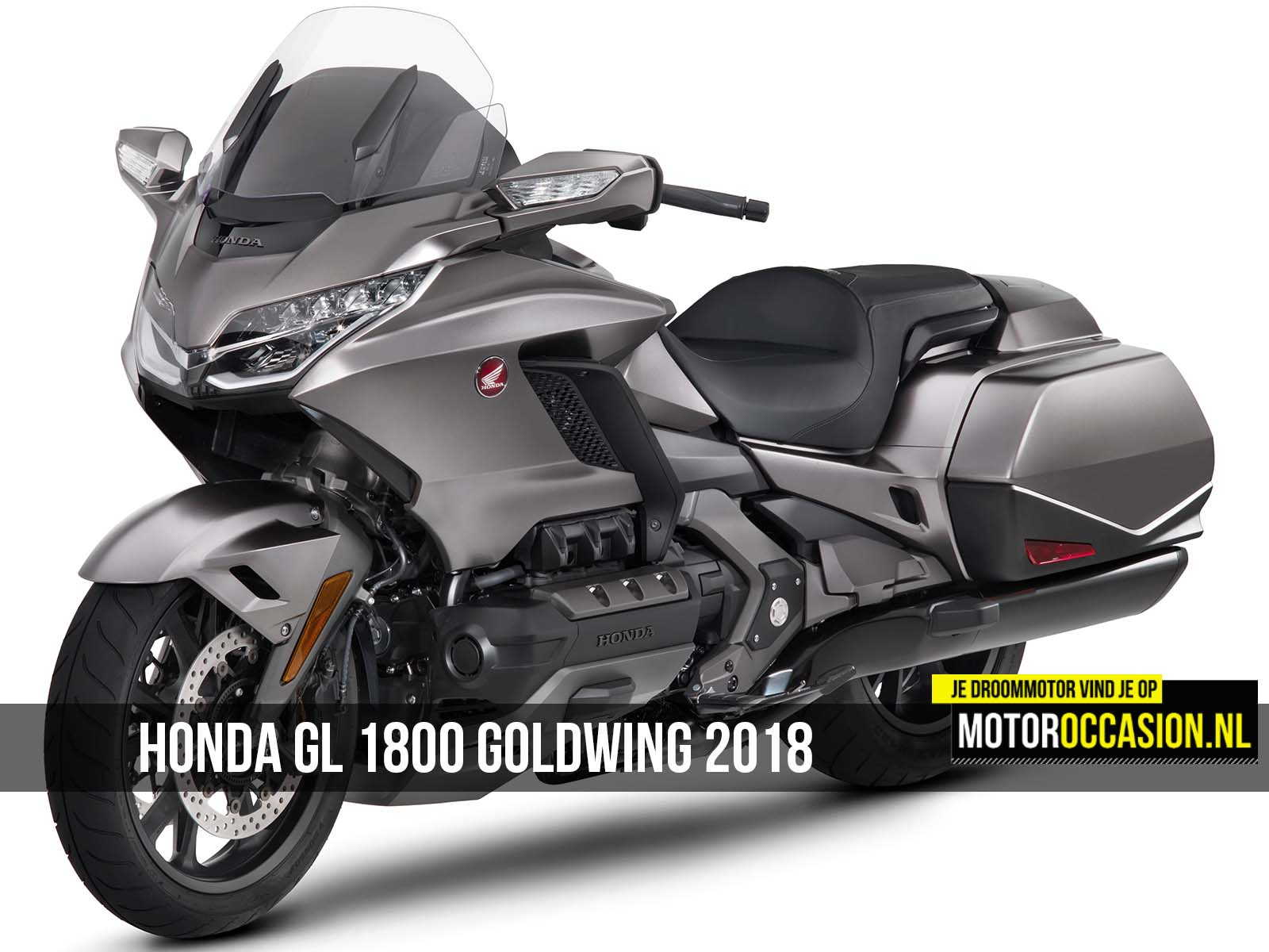 honda gl 1800 goldwing 2018 is atletischer geworden 25 10 2017. Black Bedroom Furniture Sets. Home Design Ideas