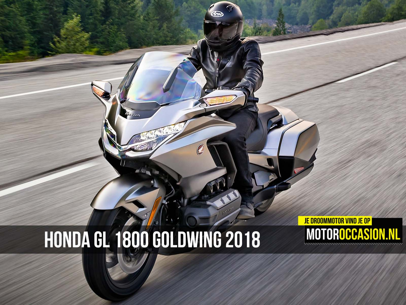 Motoroccasion.nl, Honda GL 1800 Goldwing 2018 is ...
